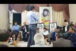 رفاقت سردار شهید غلامرضا بینوا و سردار شهید عبدالحمید حسینی تا بعد از شهادت!!!!