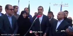 صحبت های جنجالی وزیر بهداشت علیه دولت روحانی
