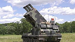 Monstrously Powerful US M270A1 MLRS in Act...