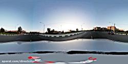 ویدئو 360 درجه -بلوار آزادی- حد فاصل میدان شهدای گمنام و میدان خلیج فارس