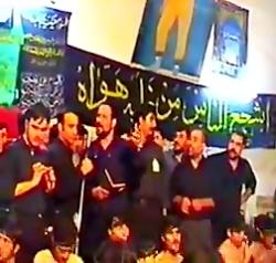 فرهاد افشار( جهان را تکان داده نام حسین بود تا قیامت قیام حسین) Farhad Afshar