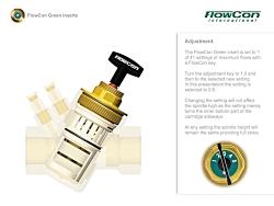 نحوه عملکرد شیر کنترل مستقل از فشار (PICV) فلوکان مدل Green