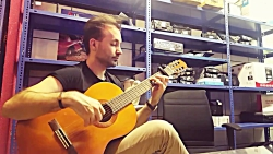 گیتار مرجان اونی که میخواستی تو غبار ها گم شد