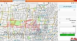 آموزش کار با بخش«ارسال از نقشه» در پنل پیامک لند