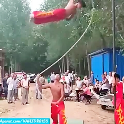 حرکات نمایشی ورزشی و حر...