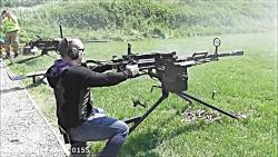 شلیک با اسلحه قدرتمند نظامی KPV - Heavy Machine Gun