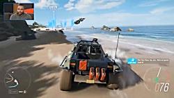گیم پلی Forza Horizon 4 (مرحله HALO)