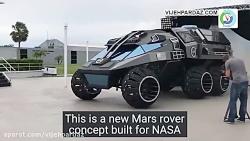 ربات Mars Rover از ناسا