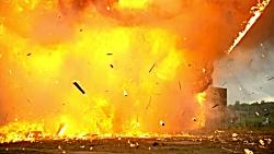 اسلوموشن انفجار بزرگ خانه!!