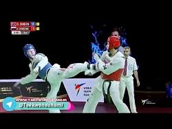 ۶۸-kg |الکسی دنسینکو (روسیه) با برادلی سیندن (بریتانیا)