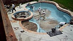 Pool Timelapse Plaster