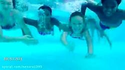 کودکان و شنا