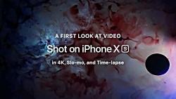 «Shot on iPhone XS» نمایش قابل...