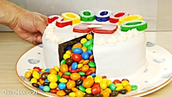 Chocolate Birthday Cake Surprise - Food Hack