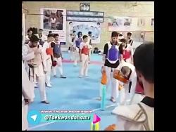 تمرین هوگوپوشان قزوین زیر نظر بیژن مقانلو