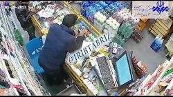 دزدی با غمه از سوپر مار...