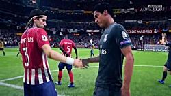 گیم پلی FIFA 19 - رئال مادرید واتلتیکو مادرید