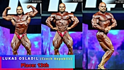 Mr Olympia 2018  Top 15 Results - فیگو...