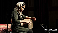 تنبک نوازی مهسا نساج پور، نوازندهٔ برگزیدهٔ جشنواره موسیقی جوان