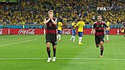 خلاصه بازی آلمان ۷-1 برز...