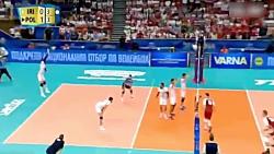 خلاصه بازی ایران 0-3 لهستان (والیبال قهرمانی جهان)
