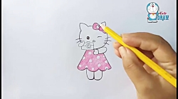How to draw Hello kitty step by step (very easy)