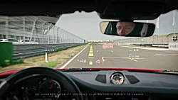 WayRay Augmented Reality Windshield Track Interface