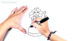 How to draw a Princess Step by Step | Prin...