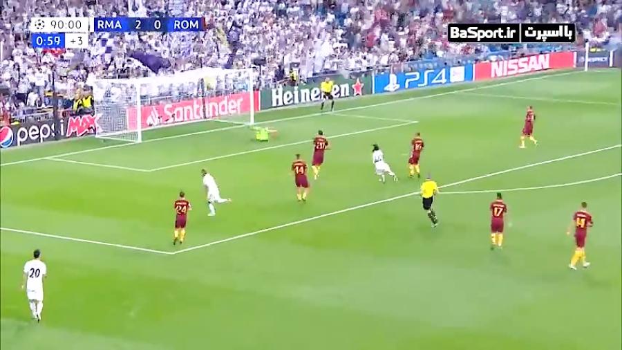 گل رونالدویی شماره 7 جدید رئال مادرید