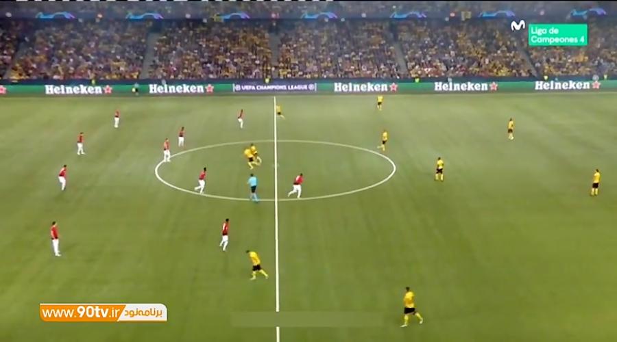 خلاصه لیگ قهرمانان: یانگ بویز 0-3 منچستریونایتد
