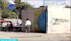 سکانس خنده دار علی صادق...