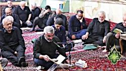 قرائت زیارت عاشورا حاج سید حسن حسین مجد روز عاشورا
