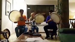 دف نوازی نبیل یوسف شریداوی سهیل حسنی سعدی نگار اعزازی