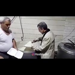 محمود احمدی نژاد در حال...