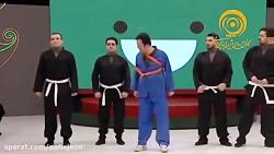 آموزش رزمی توسط حامد آه...