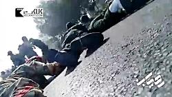 لحظاتی از تیراندازی شدید به رژه نیروهای مسلح