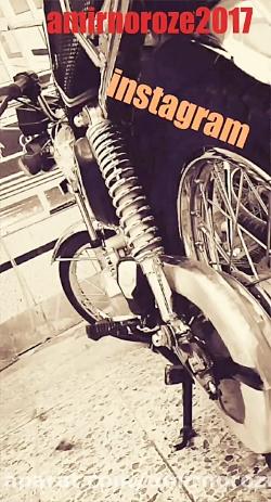 موتور سیکلت عجیب ایرانی