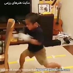 جلوه ای از هنرهای رزمی -...