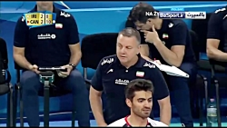 خلاصه والیبال ایران 2-3 ...