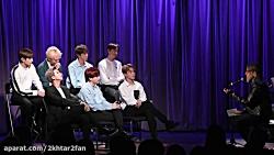 مصاحبه جدید BTS در موزه گ...