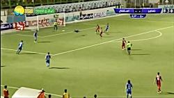 خلاصه بازی نساجی مازندران 0-0 استقلال در لیگ برتر HD