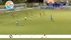 خلاصه بازی نساجی 0-0 استقلال (لیگ برتر ایران 97 98)