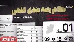 رتبه علمی ایران در جهان...