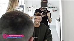 مدل موهای جالب فوتبالی...