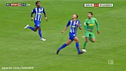 خلاصه بازی هرتابرلین 4 - 2 مونشن گلادباخ