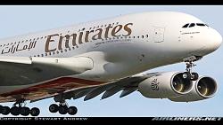 کلیپ هواپیمایی امارات