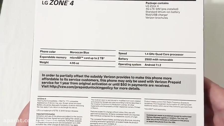 بررسی و معرفی LG Zone 4
