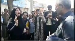 اعتراض شهروند اهوازی به علی ربیعی