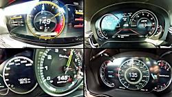 0-300  BMW M5 vs AMG E 63 S vs  Panamera T...