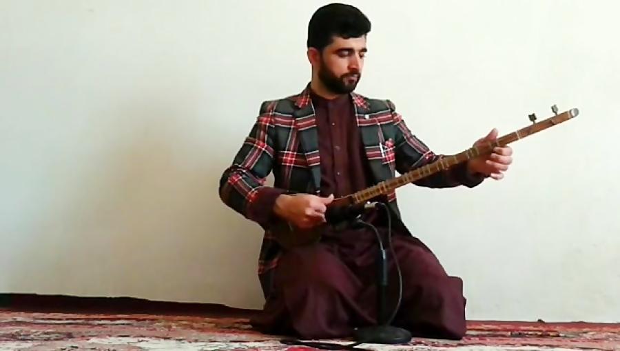 سلطان قلبها عبدالهادی توخی هنرجوی غیرحضوری سهتار نیما فریدونی هرات افغانستان